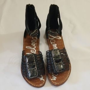 Sam Edelman size 6 gladiator thong sandal